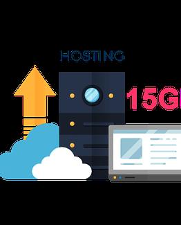 Hospedaje Web empresas 15GB