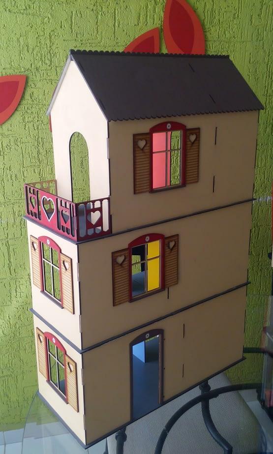 Casita de muñecas de Madera MDF