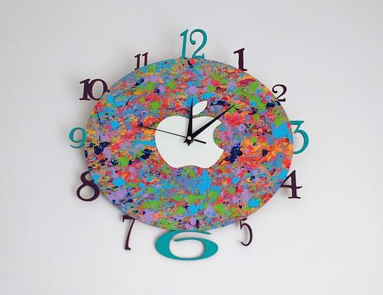 Reloj de pared Apple MDF
