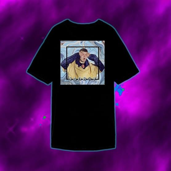 Camiseta Yung Lean SadBoys Club 2001